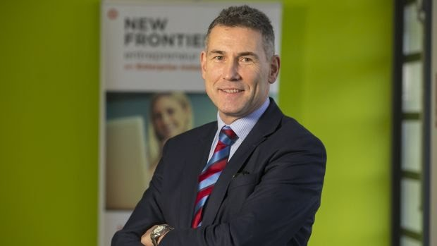 Eugene Crehan, New Frontiers programme manager at Waterford Institute of Technology